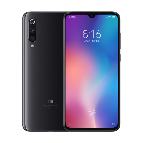 [HK Stock] Xiaomi Mi 9, 6GB+128GB, Global Official Version, Screen Fingerprint Identification, Face ID, 48MP Triple Rear Cameras, 6.39 inch Water-drop Screen MIUI 10 Qualcomm Snapdragon 855 Octa Core Kryo 485 up to 2.84GHz, Network: 4G, Dual SIM, NFC, 20W