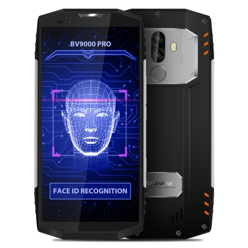[HK Stock] Blackview BV9000 Pro, 6GB+128GB, IP68 Waterproof Dustproof Shockproof, Dual Back Camera, Face & Fingerprint Identification, 5.7 inch Android 7.1 MTK6757CD (Helio P25) Octa Core up to 2.6GHz, NFC, OTG, Network: 4G(Silver)