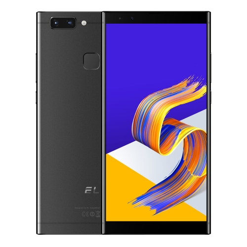 [HK Stock] KXD EL K20, 3GB+32GB, Dual Back Cameras, Face & Fingerprint Identification, 5.7 inch Android 8.1 MTK6750 Octa Core up to 1.5GHz, Network: 4G, Dual SIM (Black)