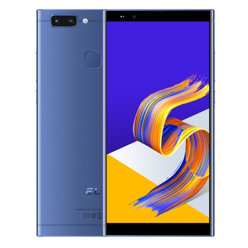 [HK Stock] KXD EL K20, 3GB+32GB, Dual Back Cameras, Face & Fingerprint Identification, 5.7 inch Android 8.1 MTK6750 Octa Core up to 1.5GHz, Network: 4G, Dual SIM (Blue) фото