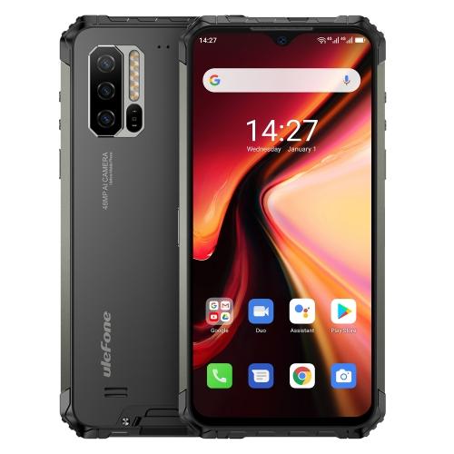 [HK Warehouse] Ulefone Armor 7 Rugged Phone, 48MP Camera, 8GB+128GB, Triple Back Cameras, IP68/IP69K Waterproof Dustproof Shockproof, Face ID & Fingerprint Identification, 5500mAh Battery, 6.3 inch Android 10.0 Helio P90 MTK6779 Octa-core 64-bit up to 2.2