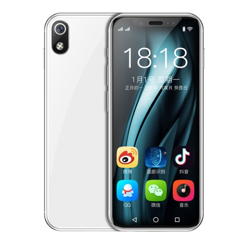 K-TOUCH I9s, 1GB+16GB, Face ID Identification, 3.46 inch Android 6.0 MTK6580 Quad Core, Network: 3G, Dual SIM, Support Google Play(White) фото