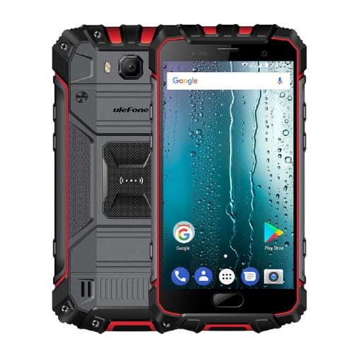 [HK Stock] Ulefone Armor 2 Rugged Phone, 6GB+64GB, IP68 Waterproof Dustproof Shockproof, Fingerprint Identification, 5.0 inch Android 7.0 MTK Helio P25 Octa Core 64-bit up to 2.6GHz, Network: 4G, NFC, OTG, Dual SIM(Red)