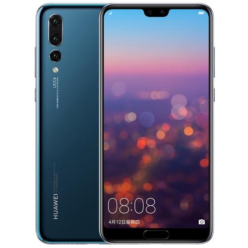 Huawei P20 Pro CLT-AL01, 6GB+64GB,China Version, Triple Back Cameras, Fingerprint Identification, 6.1 inch Full Screen EMUI 8.1(Android 8.1) Kirin 970 Octa Core + Micro Nuclei i7, 4 x Cortex A73 2.36GHz + 4 x Cortex A53 1.8GHz, Network: 4G(Blue) Support G