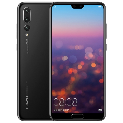 Huawei P20 Pro CLT-AL00, 6GB+128GB, China Version, Triple Back Cameras, Fingerprint Identification, 6.1 inch Full Screen EMUI 8.1(Android 8.1) Kirin 970 Octa Core + Micro Nuclei i7, 4 x Cortex A73 2.36GHz + 4  x Cortex A53 1.8GHz, Network: 4G(Black)