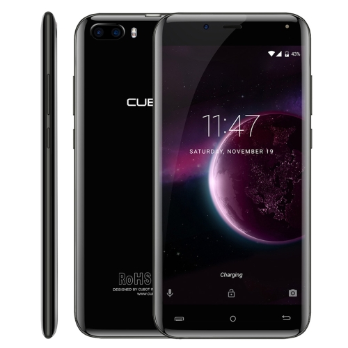 [HK Stock] CUBOT MAGIC, 3GB+16GB, Dual Back Cameras, 5.0 inch 8 Curved Body Android 7.0 MTK6737 Quad-Core up to 1.3GHz, Network: 4G, Dual SIM (Grey) cubot manito mtk6737 смартфон