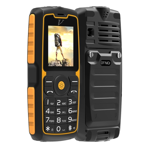 DTNO.1 A11 IP67 Waterproof Mobile Phone, 1.77 inch, Bluetooth, FM, Flashlight, Ebook, MTK6261, Dual SIM, Network: 2G
