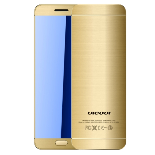 ULCOOL V26 Card Mobile Phone, 1.54 inch, MTK6261D, Support Touch Keys, Bluetooth, FM, Anti-lost, GSM, Dual SIM(Gold) zhiyusun new 10 4 inch touch screen 4 wire resistive usb touch panel overlay kit free shipping 225 173