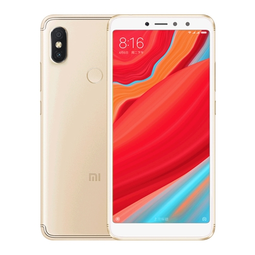 [HK Stock] Xiaomi Redmi S2, 4GB+64GB, Global Official Version, AI Dual Back Cameras, Face & Fingerprint Identification, 5.99 inch MIUI 9.0 Qualcomm Snapdragon 625 Octa Core, Network: 4G, IR(Champagne Gold)
