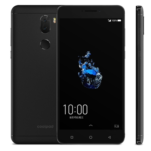 Coolpad Cool Play 6 VCR-A0, 6GB+64GB, Dual Back Cameras, Fingerprint Identification, 5.5 inch Android 7.1 Qualcomm Snapdragon 653 Octa Core up to 1.8GHz, Network: 4G(Black)