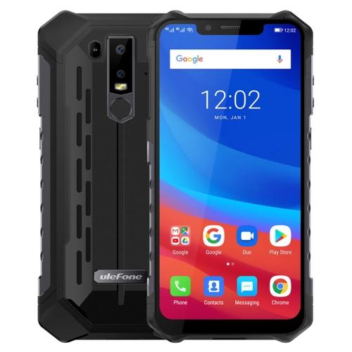 [HK Stock] Ulefone Armor 6 Rugged Phone, Dual 4G & VoLTE, 6GB+128GB, IP68/IP69K Waterproof Dustproof Shockproof, Face ID & Fingerprint Identification, 5000mAh Battery, 6.2 inch Android 8.1 Helio P60 (MKT6771) Octa-core 64-bit up to 2.0GHz, Network: 4G, OT