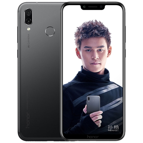 Huawei Honor Play COR-AL10, 6GB+64GB,China Version, Dual AI Rear Cameras, Fingerprint Identification, 6.3 inch Android 8.1 Kirin 970 Octa Core + Micro Nuclei i7, 4 x Cortex A73 2.36GHz + 4 x Cortex A53 1.8GHz, Network: 4G, GPU Turbo (Black) Support Google Play