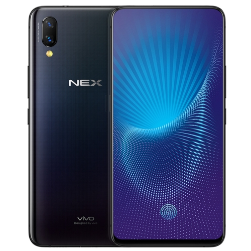 vivo NEX, 8GB+128GB, Not Support Google Play, Dual Back AI Cameras, Lifting Type Front Camera, Front Screen Fingerprint Identification, 4000mAh Battery, 6.59 inch Android 8.1 Qualcomm Snapdragon 845 Octa Core, Network: 4G (Black) ia ai