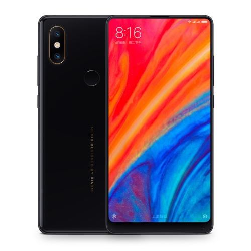 [HK Stock] Xiaomi MI MIX 2S, 6GB+64GB, Global Official Version, AI Dual Back Cameras, AI Face & Fingerprint Identification, QC 3.0, 5.99 inch Full Screen, Ceramic Body, Qualcomm Snapdragon 845 Octa Core up to 2.8GHz, Network: 4G, VoLTE, Qi Wireless Charge(Black) ia ai