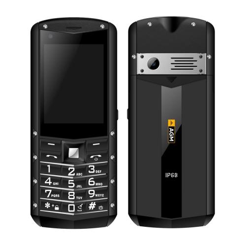 AGM M5 Rugged Phone, 1GB+8GB, IP68 Waterproof Dustproof Shockproof, 2500mAh Battery, 2.8 inch Android 8.1 Qualcomm MSM8909 Quad-core, Network: 4G(Black)