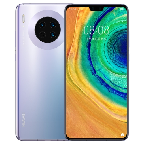 Huawei Mate 30 TAS-AL00, 40MP Camera, 8GB+128GB, China Version, Triple Back Cameras, 4200mAh Battery, Screen Fingerprint Identification, 6.62 inch EMUI 10.0 (Android 10.0) HUAWEI Kirin 990 Octa Core up to 2.86GHz, Network: 4G, OTG, NFC, IR, Not Support Google Play(Silver) фото