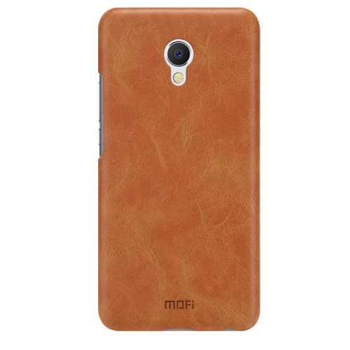 Buy MOFI Meizu MX6 Crazy Horse Texture Leather Surface PC Protective Case Back Cover, Brown for $3.94 in SUNSKY store