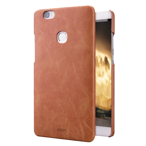 Buy MOFI Huawei Honor NOTE 8 Crazy Horse Texture Leather Surface PC Protective Case Back Cover, Brown for $4.11 in SUNSKY store
