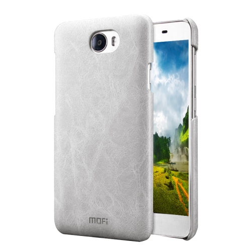 Buy MOFI Huawei Honor 5 Crazy Horse Texture Leather Surface PC Protective Case Back Cover, White for $3.62 in SUNSKY store