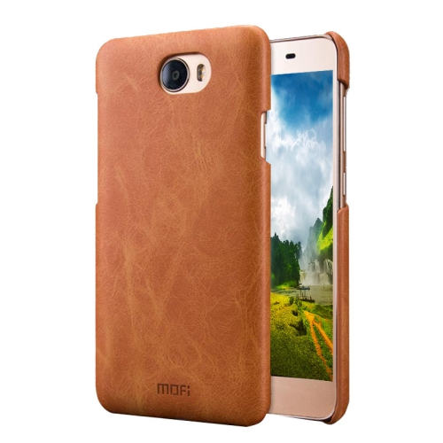 Buy MOFI Huawei Honor 5 Crazy Horse Texture Leather Surface PC Protective Case Back Cover, Brown for $3.62 in SUNSKY store