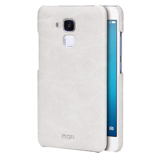Buy MOFI Huawei Honor 5C Crazy Horse Texture Leather Surface PC Protective Case Back Cover, White for $3.54 in SUNSKY store