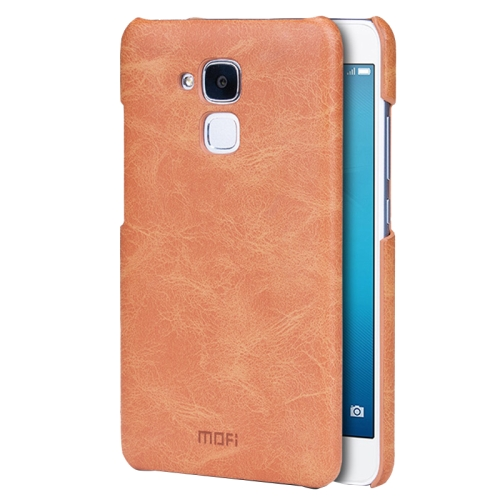 Buy MOFI Huawei Honor 5C Crazy Horse Texture Leather Surface PC Protective Case Back Cover, Brown for $3.54 in SUNSKY store