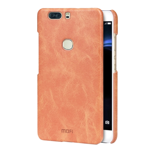 Buy MOFI Huawei Honor V8 Crazy Horse Texture Leather Surface PC Protective Case Back Cover, Brown for $3.76 in SUNSKY store