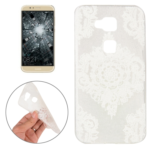 Buy Huawei G8 Flower Pattern TPU Protective Case for $1.02 in SUNSKY store