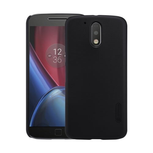 Buy NILLKIN Frosted Shield for Motorola Moto G Plus (4th Gen.) Concave-convex Texture PC Protective Case Back Cover, Black for $3.85 in SUNSKY store