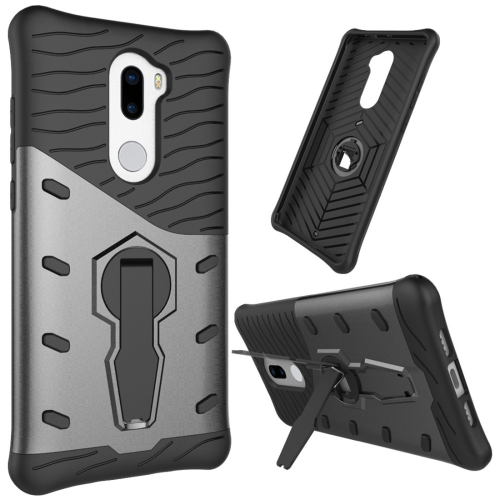 Buy For Xiaomi 5s Plus Shock-Resistant 360 Degree Spin Tough Armor TPU+PC Combination Case with Holder, Black for $2.46 in SUNSKY store