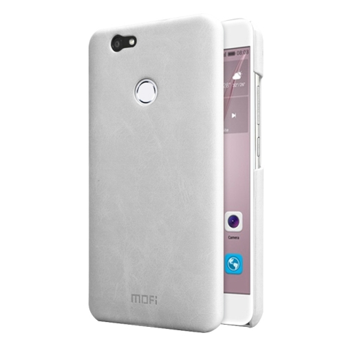 Buy MOFI Huawei nova Crazy Horse Texture Leather Surface PC Protective Case Back Cover, White for $3.71 in SUNSKY store
