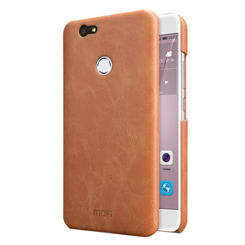 Buy MOFI Huawei nova Crazy Horse Texture Leather Surface PC Protective Case Back Cover, Brown for $3.71 in SUNSKY store