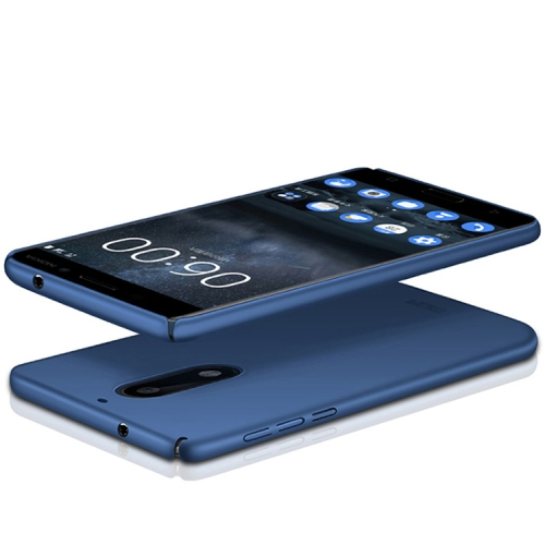 Buy MOFI for Nokia 5 PC Ultra-thin Full Coverage Protective Back Cover Case, Blue for $3.19 in SUNSKY store
