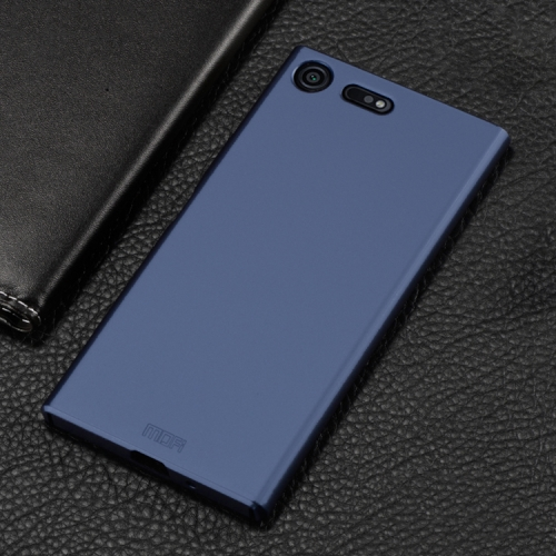 Buy MOFI for Sony Xperia XZ1 Compact PC Ultra-thin Full Coverage Protective Back Cover Case, Blue for $3.19 in SUNSKY store