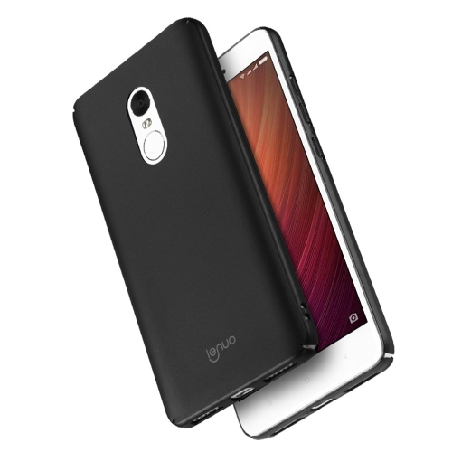 Buy Lenuo Xiaomi Redmi Note 4 PC Ultra-thin Impact Protection Case, Black for $2.77 in SUNSKY store