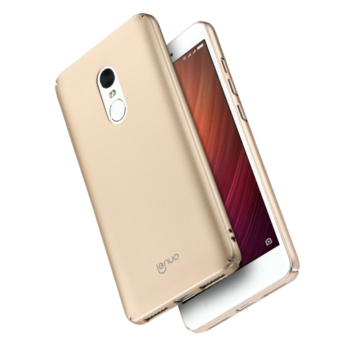 Buy Lenuo Xiaomi Redmi Note 4 PC Ultra-thin Impact Protection Case, Gold for $2.77 in SUNSKY store