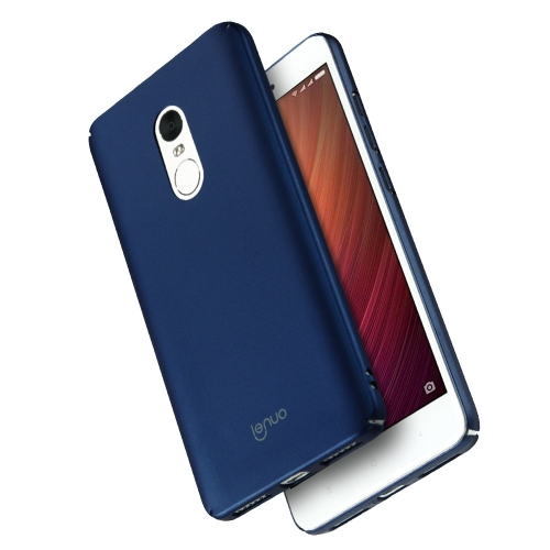 Buy Lenuo Xiaomi Redmi Note 4 PC Ultra-thin Impact Protection Case, Blue for $2.77 in SUNSKY store