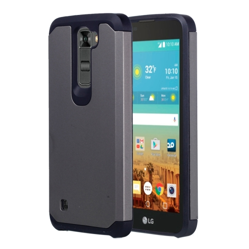 Buy For LG K7 Corselet TPU + PC Combination Protective Case, Grey for $2.07 in SUNSKY store