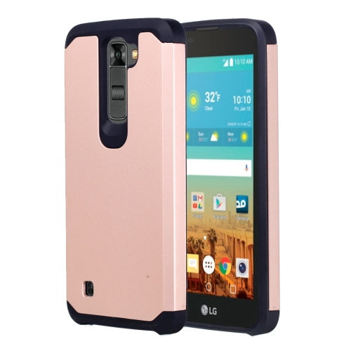 Buy For LG K7 Corselet TPU + PC Combination Protective Case (Rose Gold) for $2.07 in SUNSKY store
