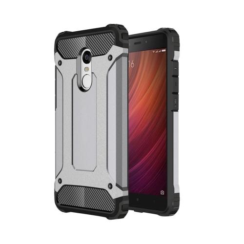 Xiaomi Redmi Note 4 Tough Armor TPU + PC Combination Case, Grey