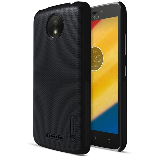 Buy NILLKIN Frosted Shield for Motorola Moto C Plus Concave-convex Texture PC Protective Case Back Cover, Black for $3.84 in SUNSKY store