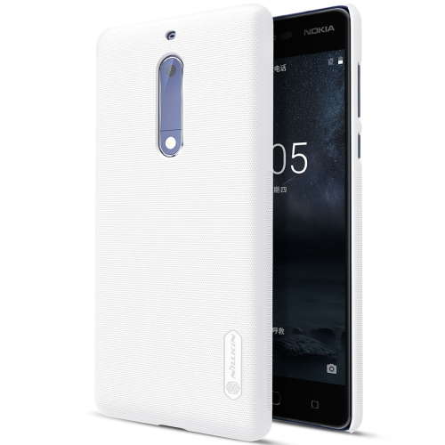 Buy NILLKIN Frosted Shield for Nokia 5 Concave-convex Texture PC Protective Case Back Cover, White for $3.85 in SUNSKY store