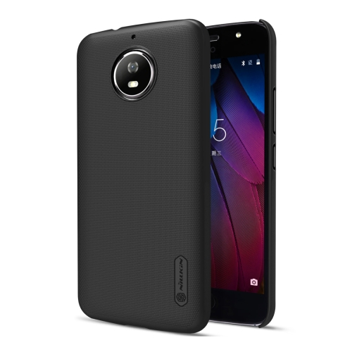 Buy NILLKIN Frosted Shield for Motorola Moto G5S Concave-convex Texture PC Protective Case Back Cover, Black for $3.85 in SUNSKY store