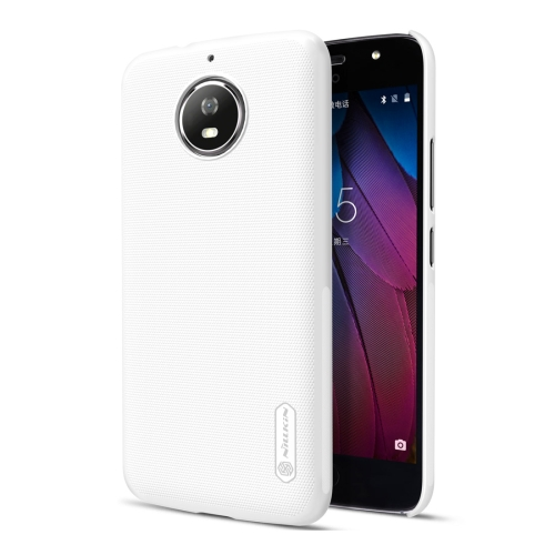Buy NILLKIN Frosted Shield for Motorola Moto G5S Concave-convex Texture PC Protective Case Back Cover, White for $3.85 in SUNSKY store