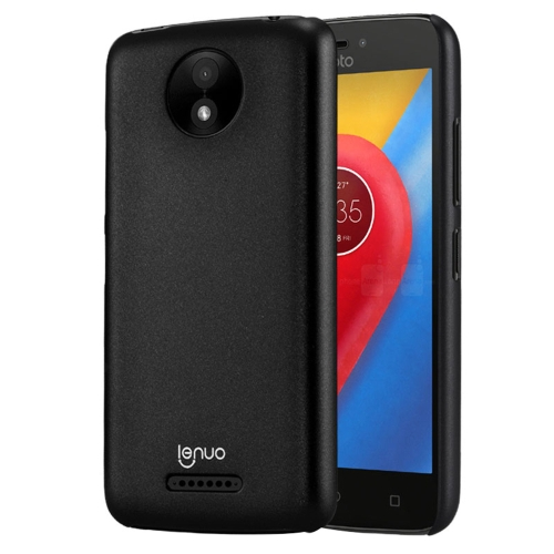Buy Lenuo for Motorola Moto C Plus PC Ultra-thin Impact Protection Case, Black for $2.91 in SUNSKY store