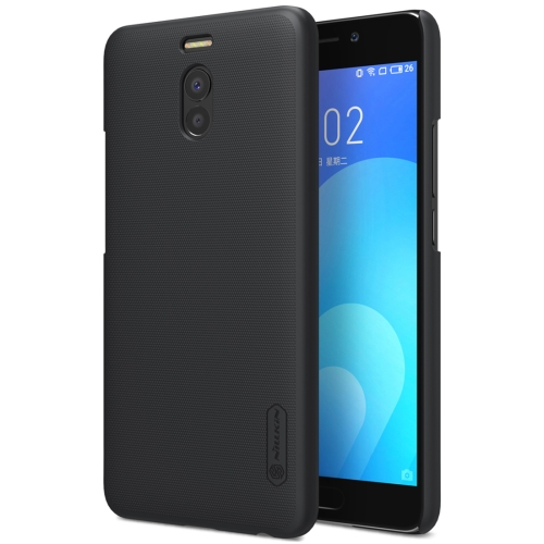 Buy NILLKIN Frosted Shield for Meizu M6 Note Concave-convex Texture PC Protective Case Back Cover, Black for $3.85 in SUNSKY store