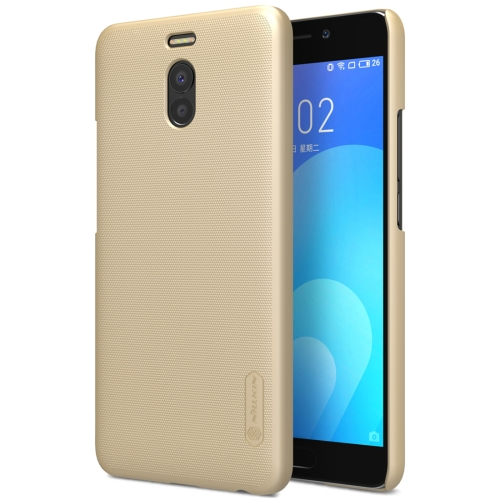 Buy NILLKIN Frosted Shield for Meizu M6 Note Concave-convex Texture PC Protective Case Back Cover, Gold for $3.85 in SUNSKY store