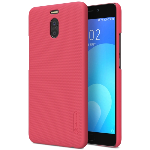 Buy NILLKIN Frosted Shield for Meizu M6 Note Concave-convex Texture PC Protective Case Back Cover, Red for $3.85 in SUNSKY store