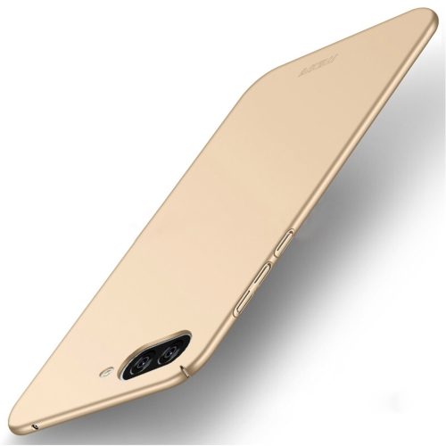 Buy MOFI Asus ZenFone 4 Max / ZC520KL Frosted PC Ultra-thin Edge Fully Wrapped Up Protective Case Back Cover, Gold for $3.20 in SUNSKY store
