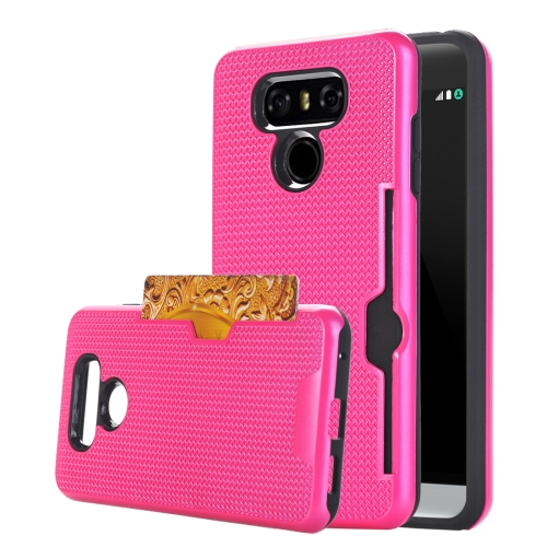 Buy For LG G6 Dream Network Dropproof Protective Back Cover Case with Card Slots, Magenta for $2.15 in SUNSKY store